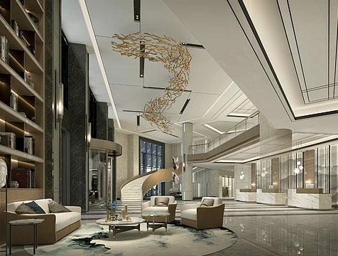 西安亿融国际酒店设计装修