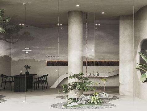 广州瓦藏白酒体验馆设计装修