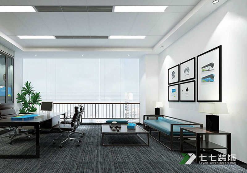 广州白云办公室装修装饰颜色怎么搭配?