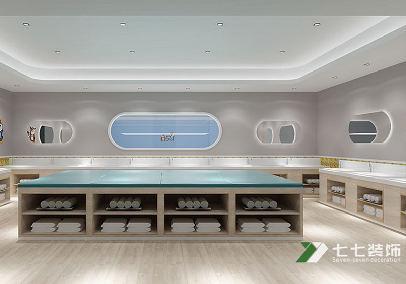 广州早教中心装修设计的核心有两点